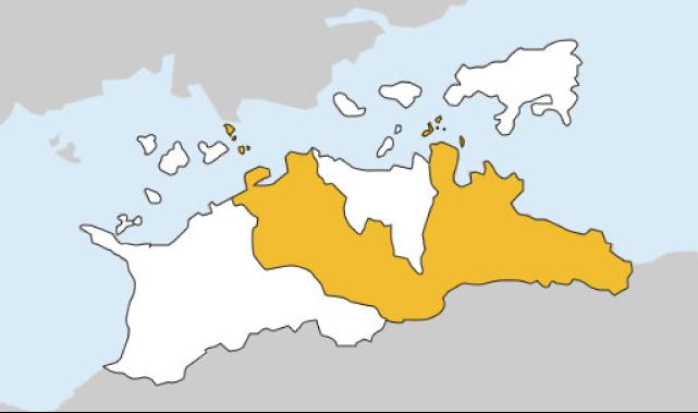香川県第2区の地図