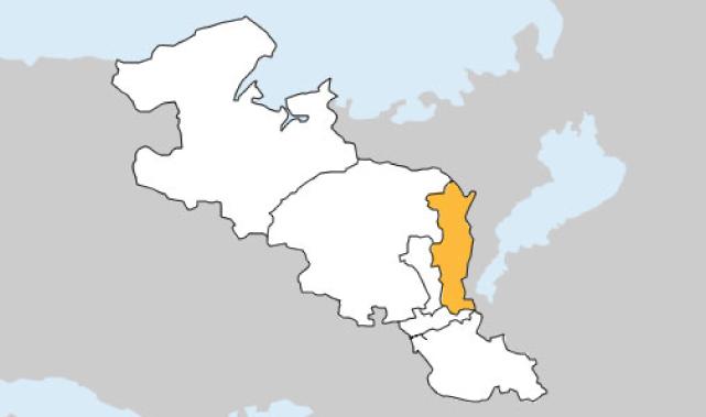 京都府第2区の地図
