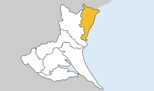 茨城県第5区の地図