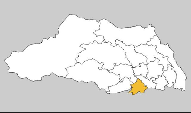 埼玉県第4区の地図