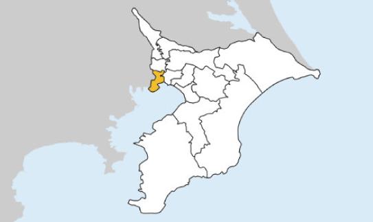 千葉県第5区の地図