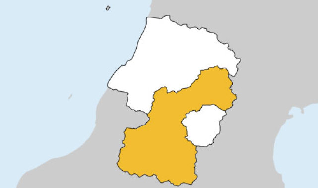 山形県第2区の地図