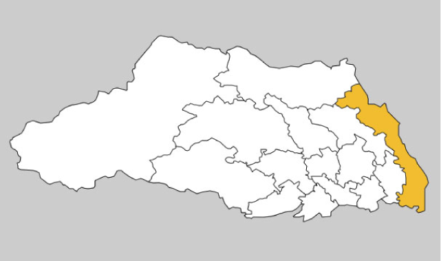 埼玉県第14区の地図